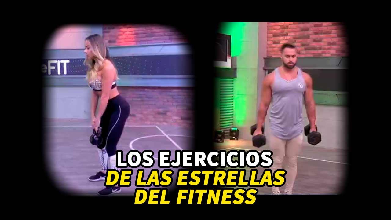 Comparten estrellas del fitness sus ejercicios para mantenerse en forma