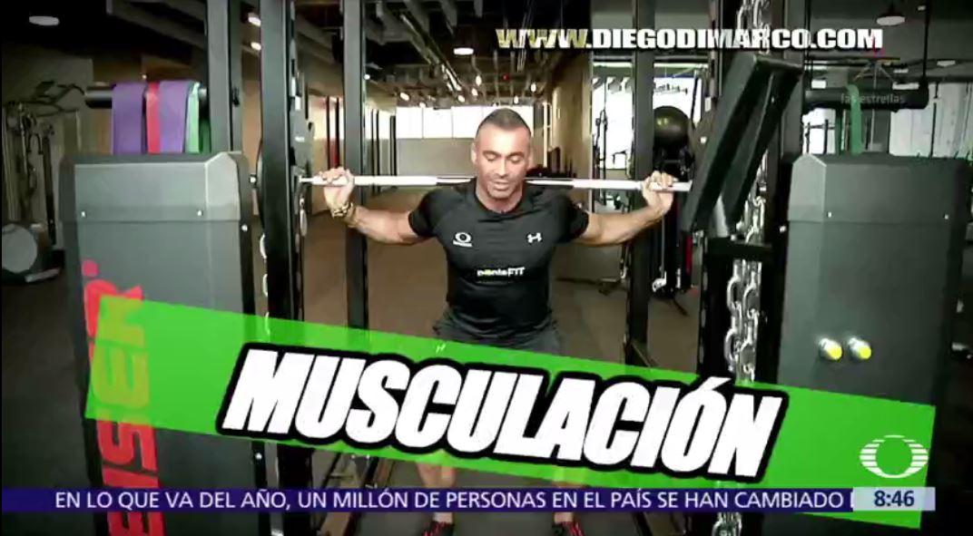 Rutina más músculo menos grasa