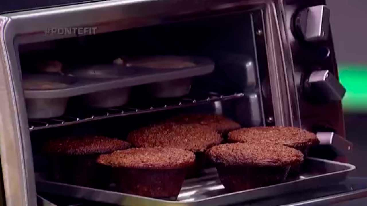 Muffins de avena para aumentar la testosterona