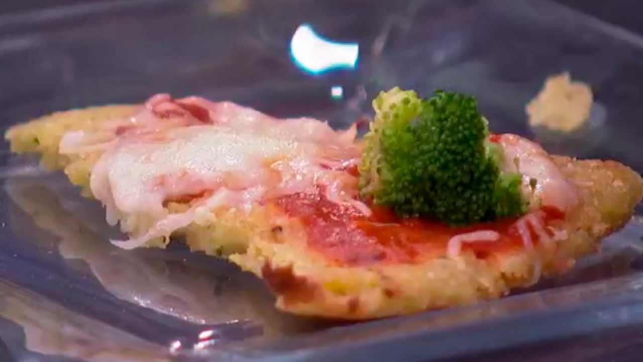 Deliciosa pizza vegetal