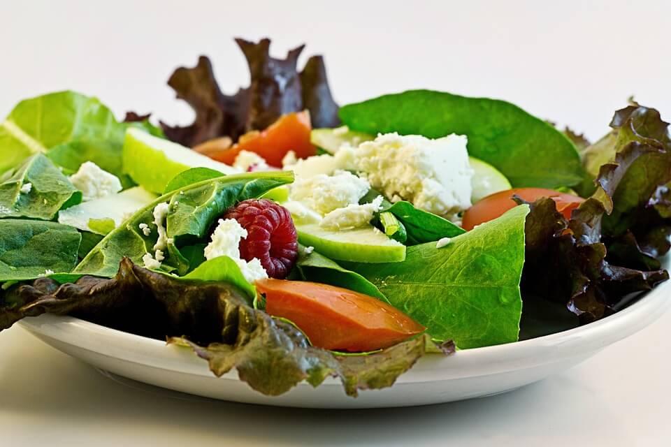 Perdida de peso al cambiar la dieta por una vegetariana